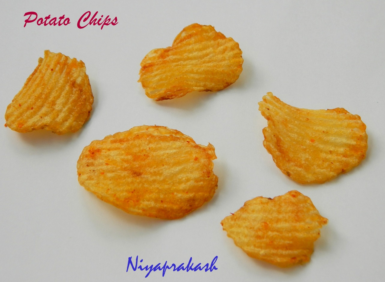 Niya's World: Potato Chips
