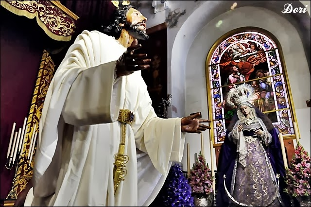 Besapiés Señor de la Oración en el Huerto