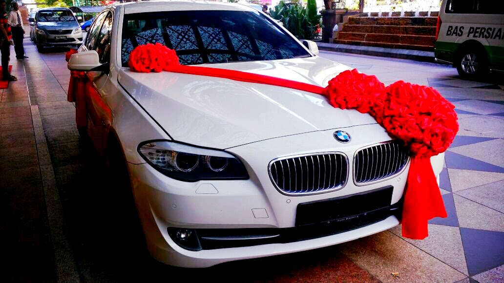 Redorca malaysia wedding and event car rental bridal car decoration wedding car decorations junglespirit Gallery