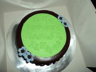 ~FareWell Cake~