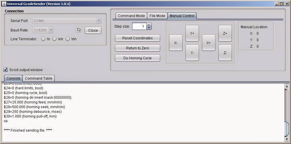 Universal Gcode Sender Инструкция - фото 11