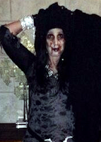 Cher as a zombie