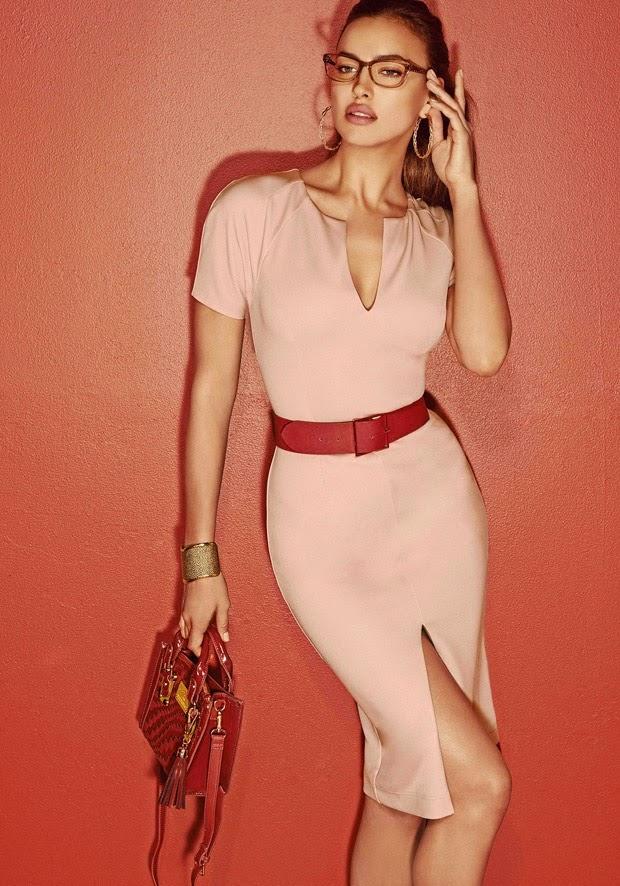 Irina Shayk stars for the Bebe Fall/Winter 2014 Campaign