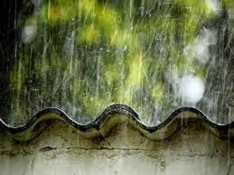 Chovendo em meu telhado...