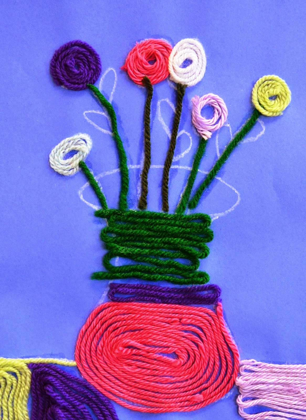 Huichol Yarn Paintings Lessons From The K 12 Art Room