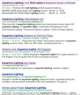 Aquarium Lighting; Search Results