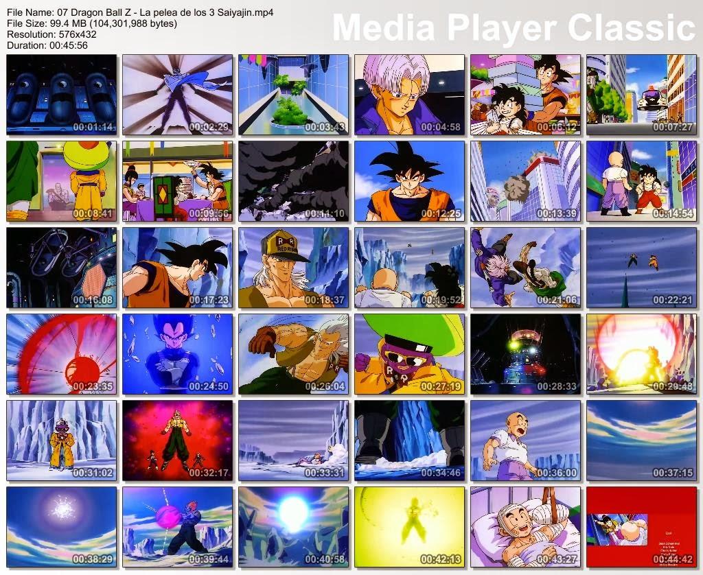 Dragon Ball – Dragon Ball Z: Peliculas 21/21 [Peliculas] [Español Lati