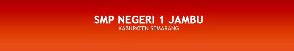 SMP Negeri 1 Jambu