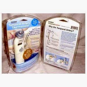 EXERGEN TEMPORAL ARTERY THERMOMETER USER MANUAL
