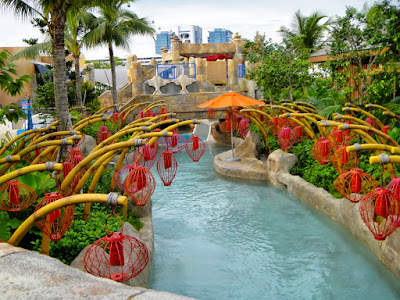 Summer Holiday at Adventure Cove Waterpark Sentosa Singapore