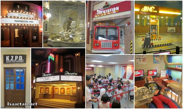 The venue, KidZania Kuala Lumpur, a haven for kids