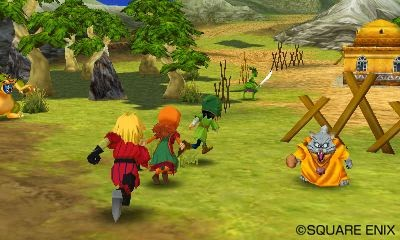 เกมส์ Dragon Quest 7 Warrior of Eden 3DS jrpg