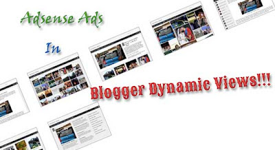 Display AdSense When Using Blogger Dynamic Views Templates