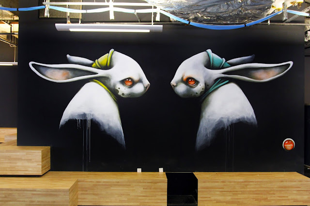 Puerto Rican artist and muralist Ana Maria recently spent some time in Las Vegas where she was commissioned to work on a series of indoor murals.