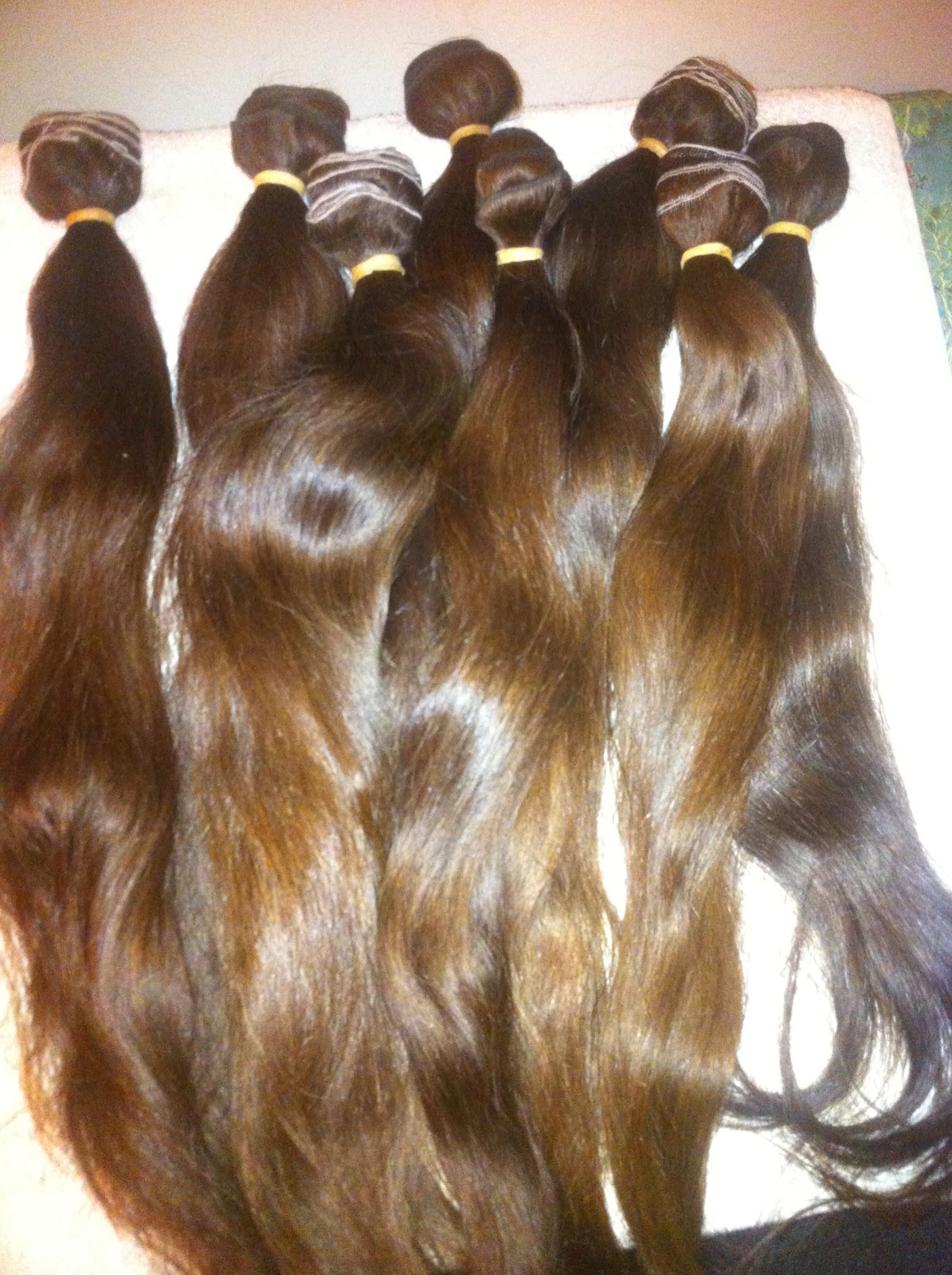 Russian Bonded Hair Extensions 46