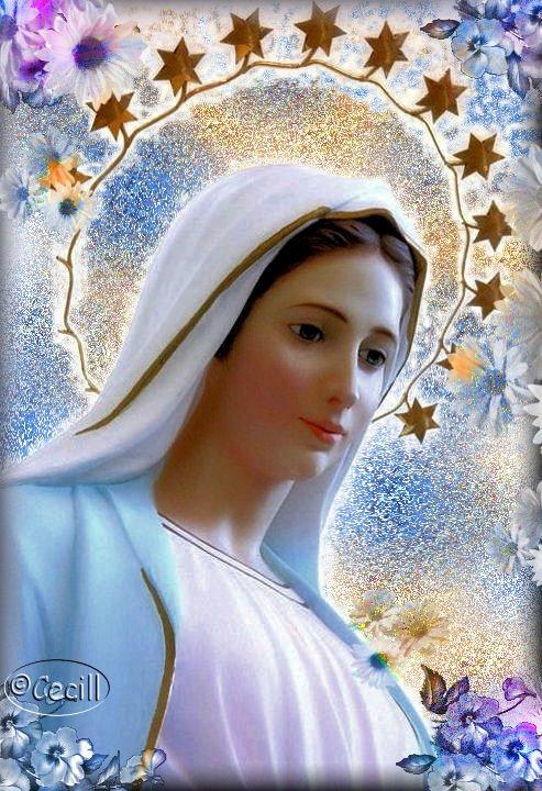 Medjugoje la benedizione speciale e materna -Medjugorje la bendición especial y materna