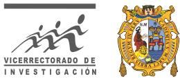Vicerectorado de Investigación. Universidad Nacional Mayor de San Marcos