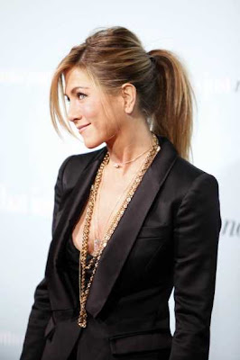 Jennifer Aniston's Chic Ponytail Long Hairstyle