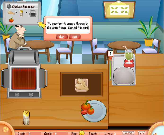 Free download bar b que flash game free download flash games for Food bar games free online