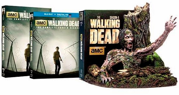 Ediciones domesticas de la 4ª temporada de The Walking Dead