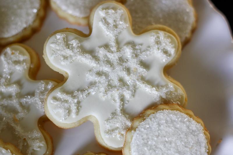 snowflake cookie, auntie caitlin