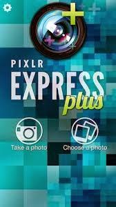 غلاف تطبيق Pixlr Express