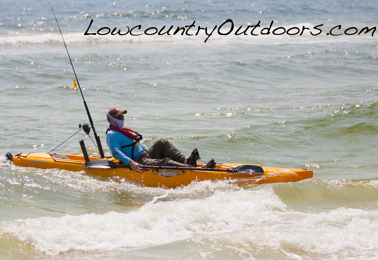 Lowcountry outdoors fishing the forgotten coast via hobie for Surf fishing panama city beach
