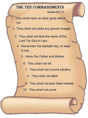 10+commandments+for+kids+pictures