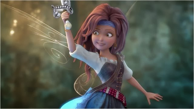 """Cena do filme """"Tinker Bell - Fadas e Piratas"""""""