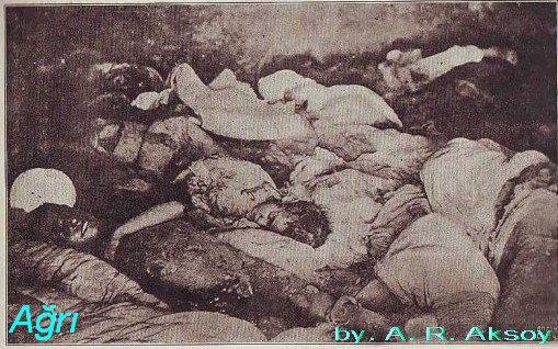 kürtlere yapılan katliamlar