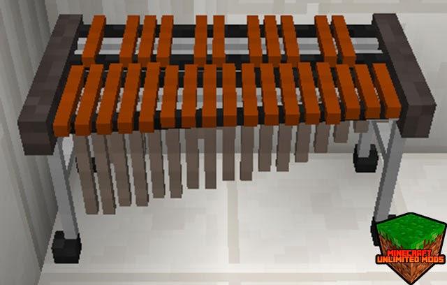MusicCraft Mod xilófono