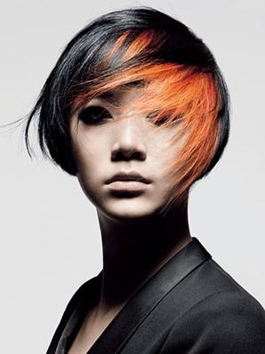 موضة الشعر الملون 2013 صبغات