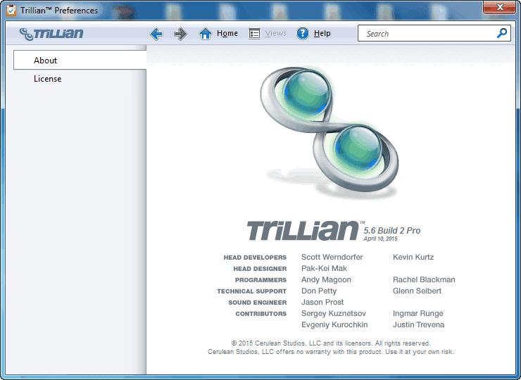 Trillian%2BPro%2B2 Trillian 5.6 Build 4 Beta Download Last Update