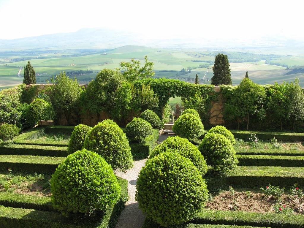 Pienza a cidade do papa pio ii noticias da bota for Jardin italien