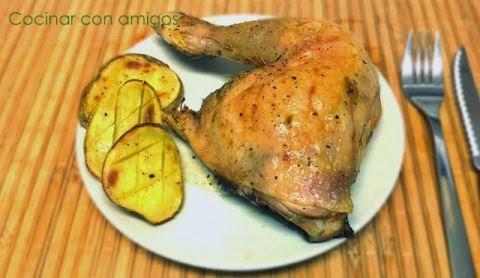 Pollo Asado con Especias y Limón