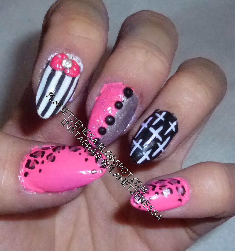 Acrylic Nail Designs With Crosses: Cross Nail Designs