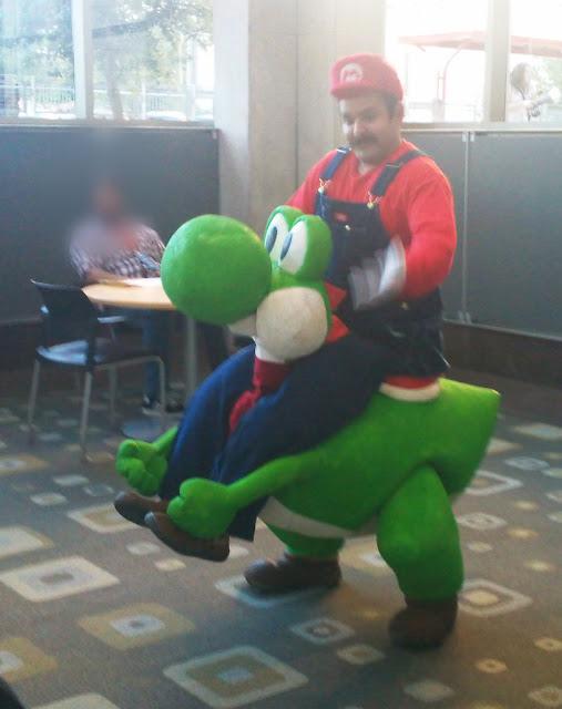 Disfraz de Mario y Joshi