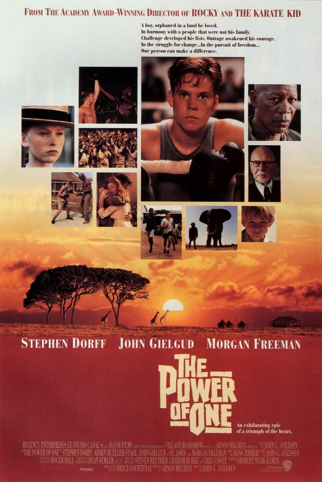 La fuerza de uno (1992)