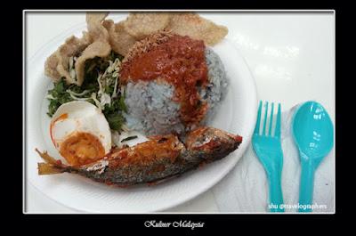 kuliner malaysia, cuisine, cullinary, food, melayu, nasi kerabu