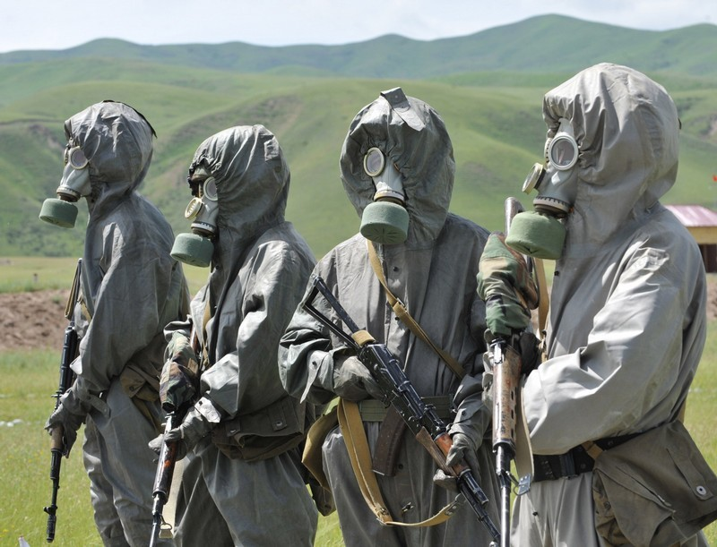 Kirghizie Kyrgyz+%2527Scorpion%2527+special+forces+soldiers+exercise+at+the+Ala-Too++%25282%2529w