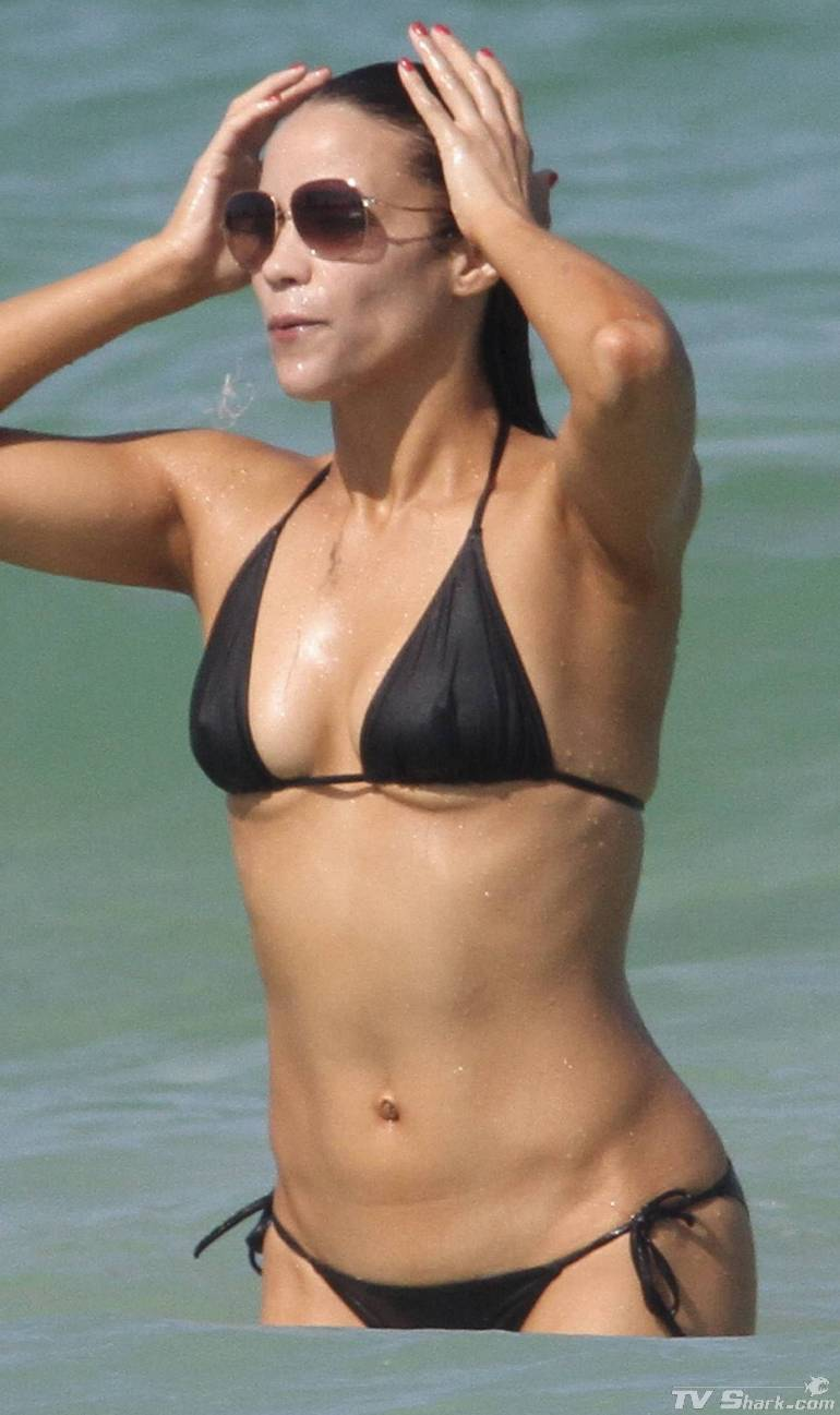 hot celebrity bikini paula patton bikini