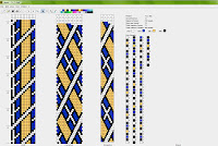 beaded crochet rope pattern