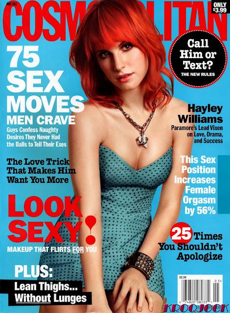 hayley williams cosmopolitan photos. hayley williams cosmo article.