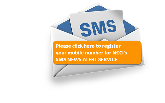 CLICK HERE TO REGISTER YOUR MOBILE NUMBER FOR NCCI NEWS ALERT SMS