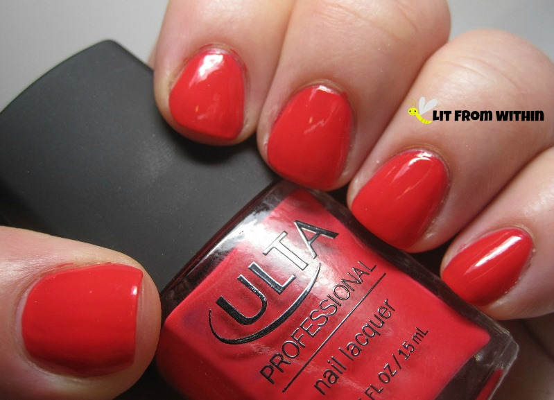 Ulta Professional Cabana Coral, an electric reddish-coral
