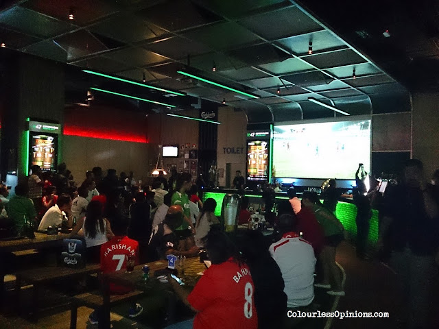 Football with Carlsberg - Strikr app launch at The Roof First Avenue Bandar Utama