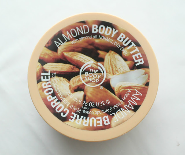 THE BODY SHOP ALMOND BODY BUTTER
