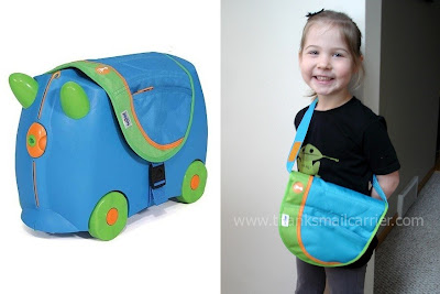 ride-on suitcase for kids