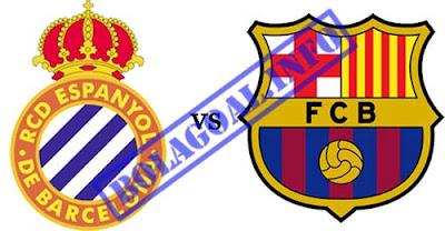 Prediksi Barcelona vs RCD Espanyol 06 Mei 2012