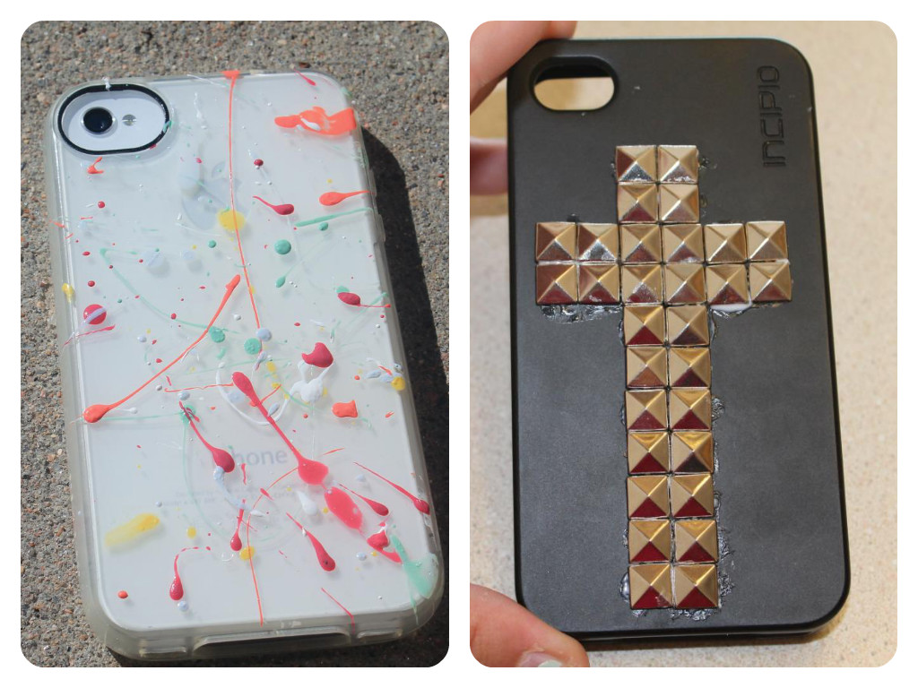 simplyranda how to jazz up plain phone cases